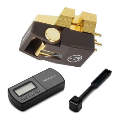 Audio-Technica Stereo Turntable Cartridge w/ Knox Digital Stylus Scale & brush