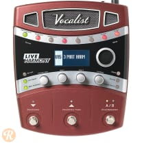 DigiTech VLHM Vocalist Live Harmony 2010s Red image