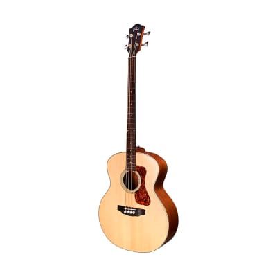 Guild B-240E Acoustic Bass Guitar, Natural Satin for sale