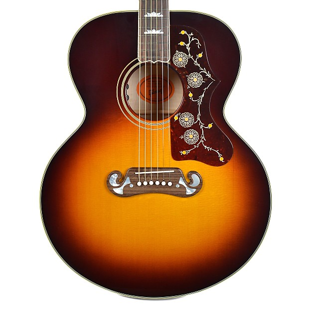 Gibson Montana 1968 SJ 200 Vintage Sunburst 2018