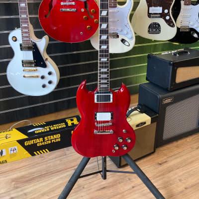 Shaftesbury 3413 Limited Edition EMG Rose Morris Electric Guitar SG for sale