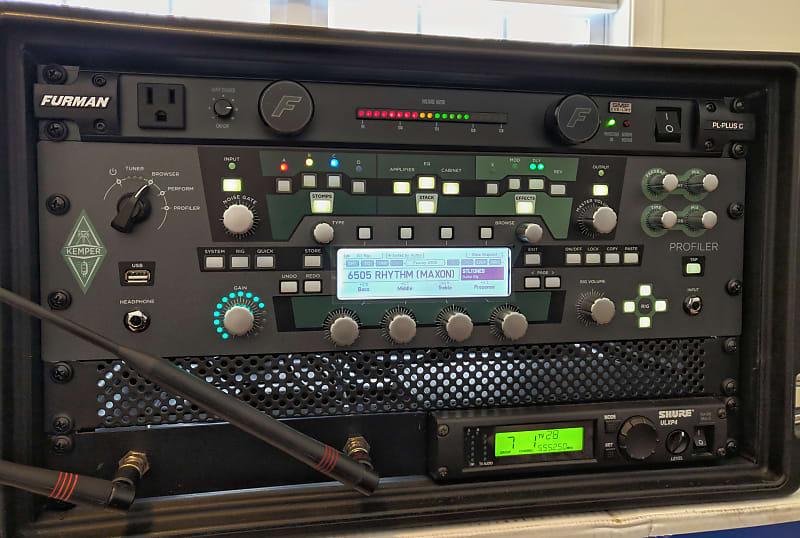 Kemper Profiler Powerrack 600 Watt Rackmount Profiling