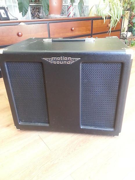 motion sound sr 112 rotary speaker cabinet for guitar reverb. Black Bedroom Furniture Sets. Home Design Ideas