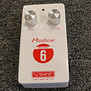VHT AV-RL-M6 VHT Redline Micro 6 watt Guitar Amp Pedal  Size powerd by 9 volt