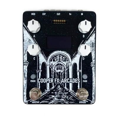 Cooper FX Arcades Multi Effect Console Pedal - Choose 2 Cards