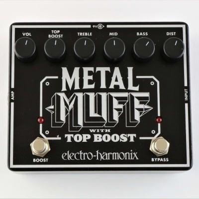 ELECTRO HARMONIX METAL MUFF w/Top Boost for sale