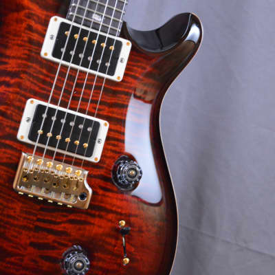 Paul Reed Smith Custom 24 2018 Fire Red Burst *10 TOP* NEW *Free Shipping*
