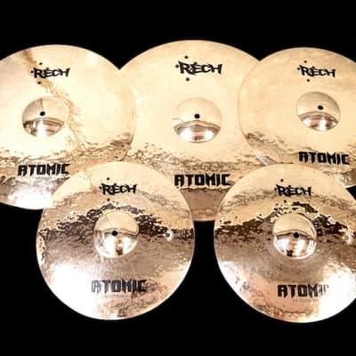 Rech Atomic Cymbal Pack Set