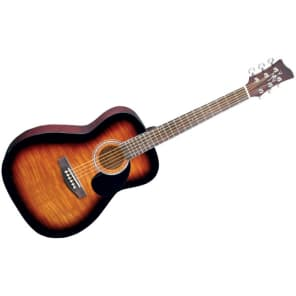 Jay Turser JJ-43F 2018 Gloss Tobacco Sunburst for sale