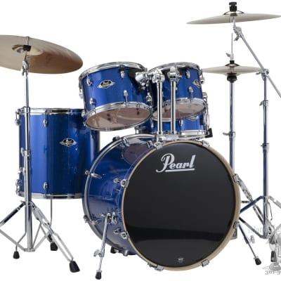 Pearl Export Electric Sparkle Blue with Hardware