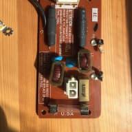 Yamaha  DX7 Fuse board