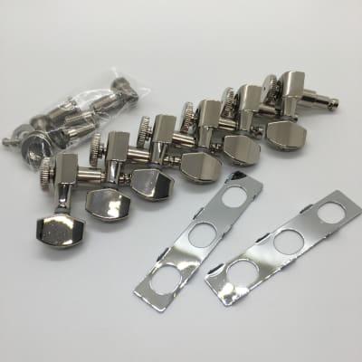 Hipshot Grip-Lock Vintage Locking Nickel Tuner Upgrade