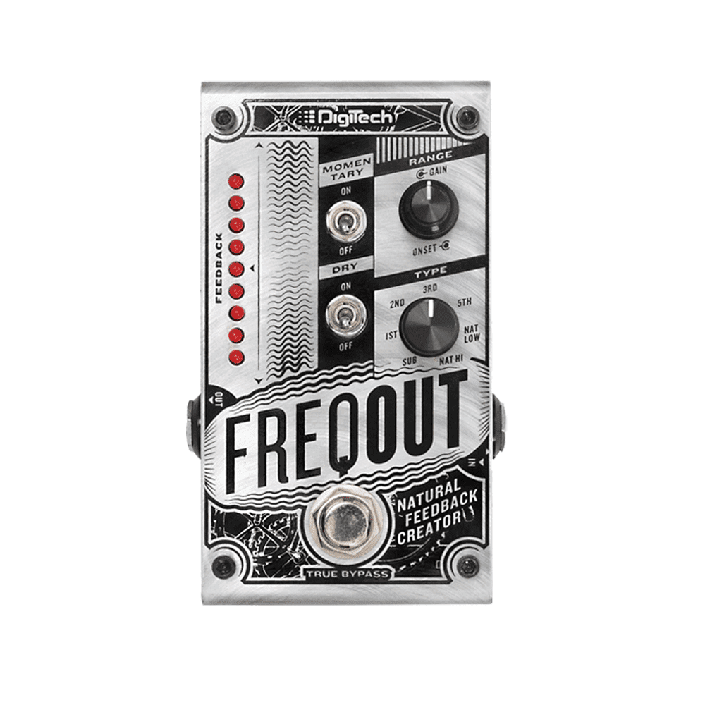 Digitech Freqout Natural Feedback Creator Pedal Reverb