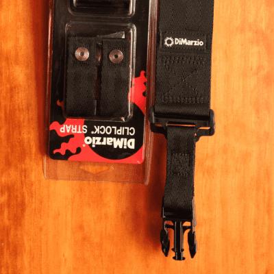 Dimarzio Clip-Lock Quick Release Guitar Strap for sale