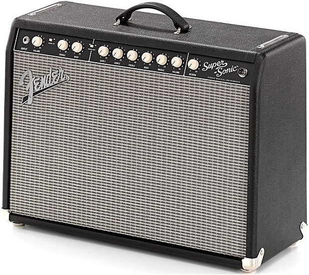 fender supersonic 22 combo black musicstreet guitars uk reverb. Black Bedroom Furniture Sets. Home Design Ideas