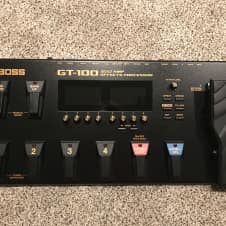 Boss GT-100 Guitar Effects Processor Ver. 2