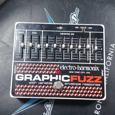 Electro-Harmonix Graphic Fuzz Pedal