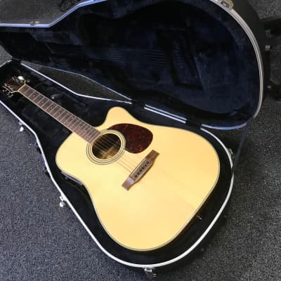 Carvin Cobalt 750 Acoustic-Electric cutaway guitar made in Korea In Excellent condition with hard case for sale