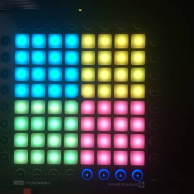 Novation Launchpad Pro USB MIDI Controller with case and decksaver