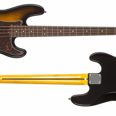 Jay Turser JTB-400C-TSB - Electric Bass with P-Style Pickup - Tobacco Sunburst Bass Guitar for sale