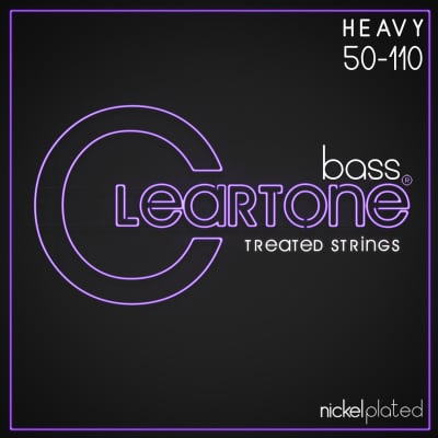 Cleartone Nickel Plated Bass Treated Strings .050-.110
