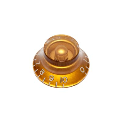 Hosco Hat Control Knob Gibson Style (Gold, Metric (mm)) for sale