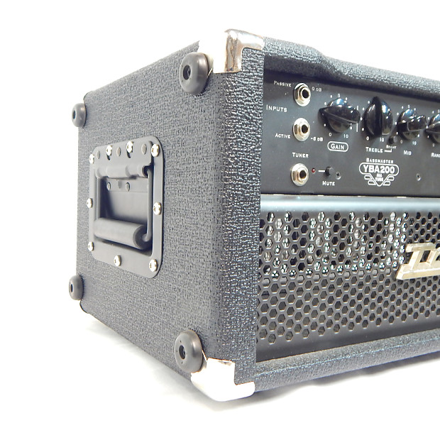 traynor yba200 ii all tube bass amplifier head reverb. Black Bedroom Furniture Sets. Home Design Ideas