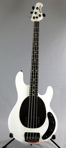 music man stingray 4 bass guitar stealth pearl finish reverb. Black Bedroom Furniture Sets. Home Design Ideas