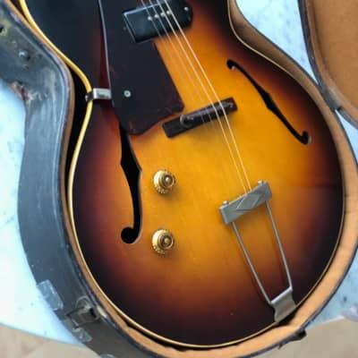 1958 Gibson ETG-150 Lefty Left Handed Sunburst Rare Vintage