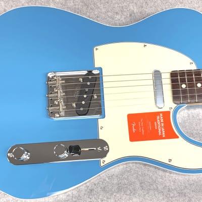Fender Fender Made in Japan Traditional 60s Telecaster SN:0528 ≒3.45kg Custom 2019 California Blue for sale