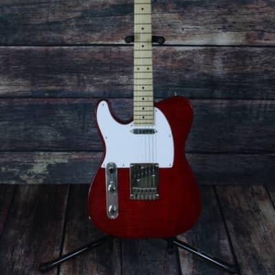 Dillion Left Handed DVT-200 F ACT Telecaster guitar - Guitar Only for sale