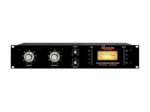 warm audio wa76 wa 76 limiter limiting amplifier new reverb. Black Bedroom Furniture Sets. Home Design Ideas