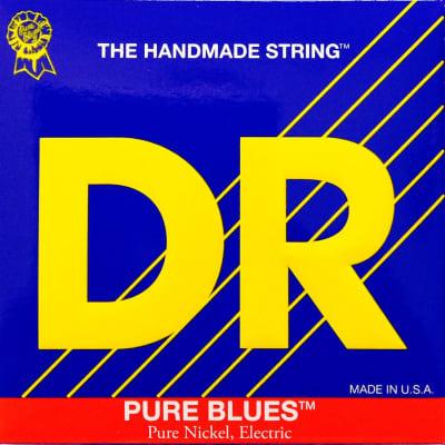 DR  PHR-9/46  Electric Guitar Strings 9-46 Pure Blues lite n heavy