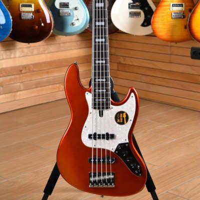 Sire Marcus Miller V7 Alder 5 2nd Generation Rosewood Fingerboard Bright Metallic Red for sale