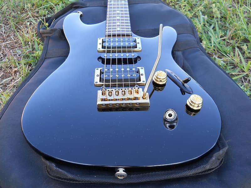 1992 Ibanez SV470 Electric Guitar Vintage Made In Japan Black & Gold image