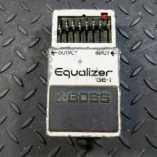 Boss GE-7 Equalizer 80s MIJ FREE SHIPPING