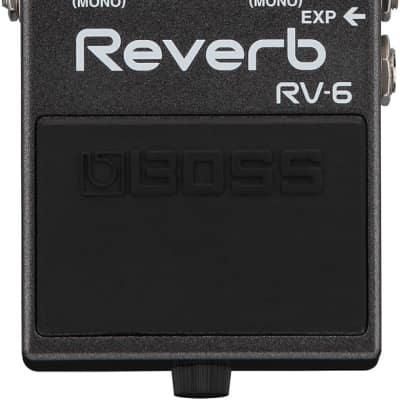 Boss RV-6 Reverb Digital Reverb Pedal for sale