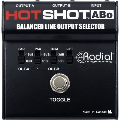Radial HotShot ABo Switcher
