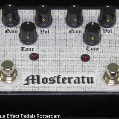 Hermida Audio M2 Mosferatu 2004 hand built and signed by Mr. Alfonso Hermida