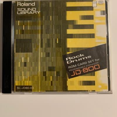 Roland JD-800 JD-990 Yellow