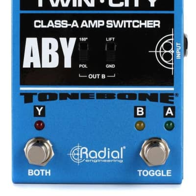 Radial R800-7115 Twin City A-b-y Footswitch