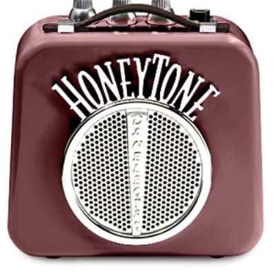 Danelectro Honeytone Mini-Amp Amplifier - Burgundy for sale