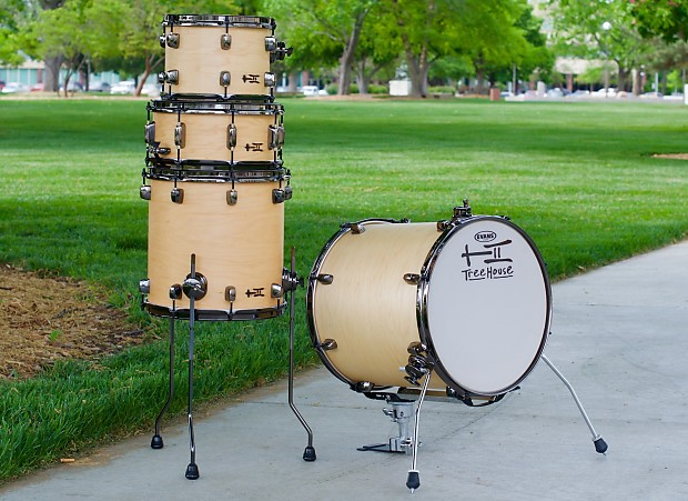 Treehouse custom drums 4 piece floor tom conversion for 16 x 12 floor tom