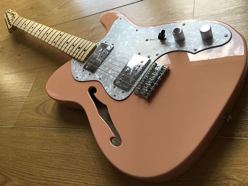 Fender Ltd Edition Shell Pink Telecaster Thinline 1972 Reissue 2017 Japan