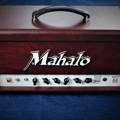 Mahalo Katy66 Custom Tolex - Mint Condition Boutique Build Built Katy 66 by Mahalo for sale