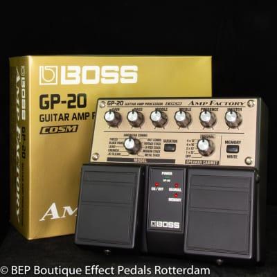Boss GP-20 Amp Factory 2001 s/n Z010143