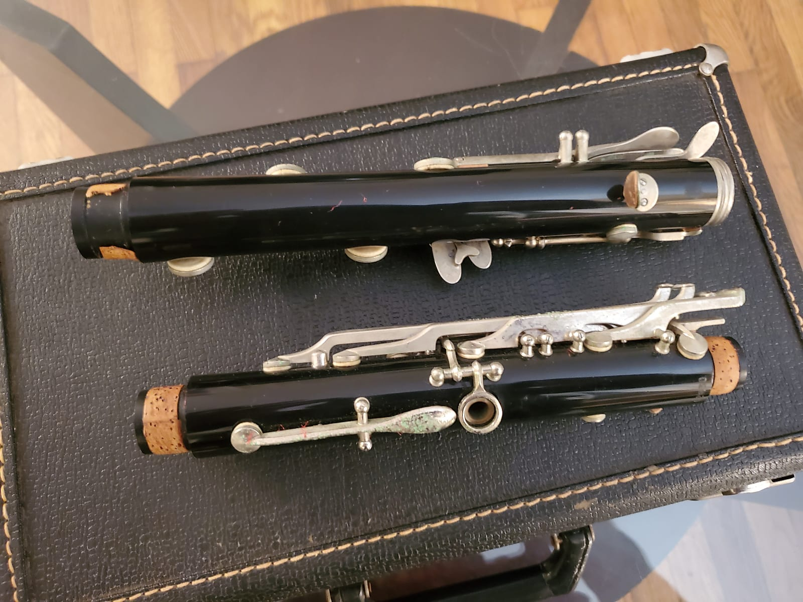 Vito Reso-Tone 3 Vintage Clarinet w/ Hardshell Case, As Is Condition