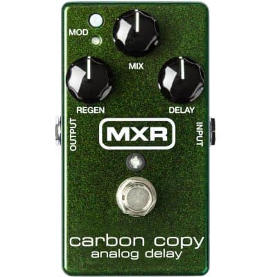 MXR M169 Carbon Copy Analog Delay Effect Pedal for sale