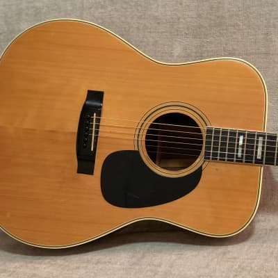 Vintage 1978 Conn F-27CH Dreadnought Acoustic Guitar Natural Spruce Top High Quality Japan + Case D45 for sale