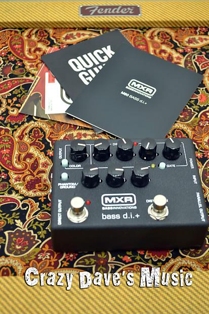 mxr m80 bass di d i plus direct box crazy dave 39 s reverb. Black Bedroom Furniture Sets. Home Design Ideas